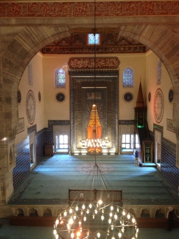 The Sultan's View into the Green Mosque