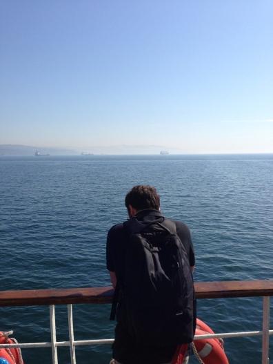 Haydar on the Ferry