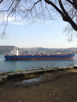 Ships on the Bosphorus (3)