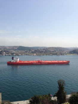 Ships on the Bosphorus (2)