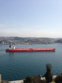 Ships on the Bosphorus (2)