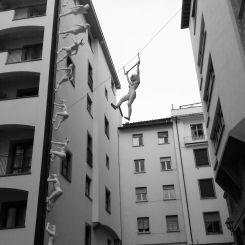 Street Art near the Ponte Vechio