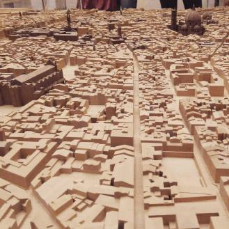 An impressive model of Florence showcased in the Uffizi Gallery
