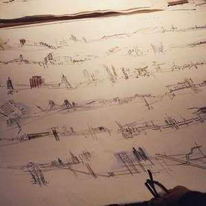 Andrea Ponsi's drawings of San Francisco