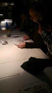 Andrea Ponsi hard at work