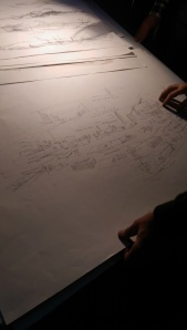 Andrea Ponsi's drawings of his studio