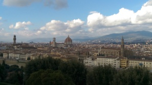 The view from on top of the Palazzo Michaelangelo