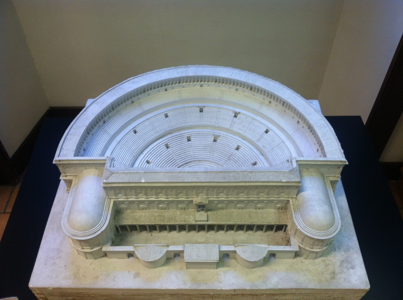 4. There were models of theaters