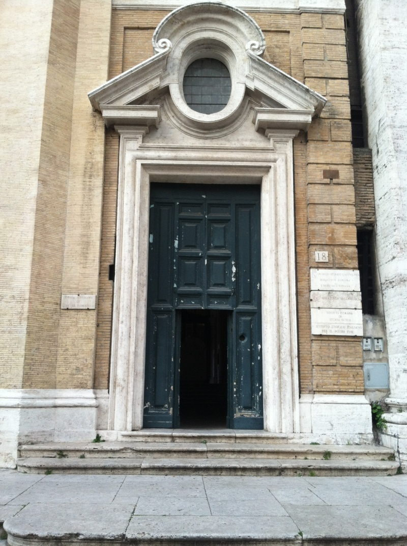 6. Hiding on the edge of a piazza was the 6th door.
