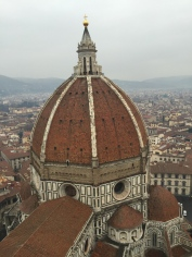 The View from the Florence Cathedral's Bell Tower