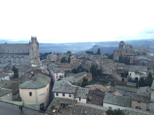 View from the Orvieto Tower