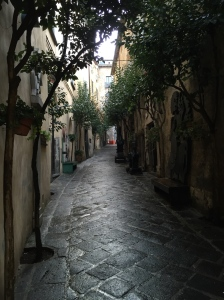This alley defines how quaint Orvieto is