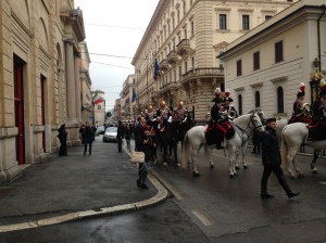 Horse Parade for the New President