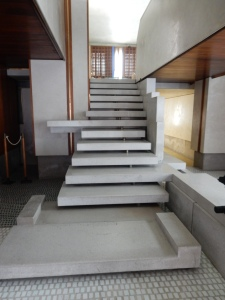 More Carlo Scarpa stairs, at the typewriter museum