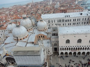 View of San Marco from the tower