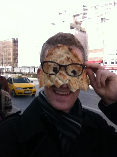 The bread here comes in many forms, one of which is great for making masks.