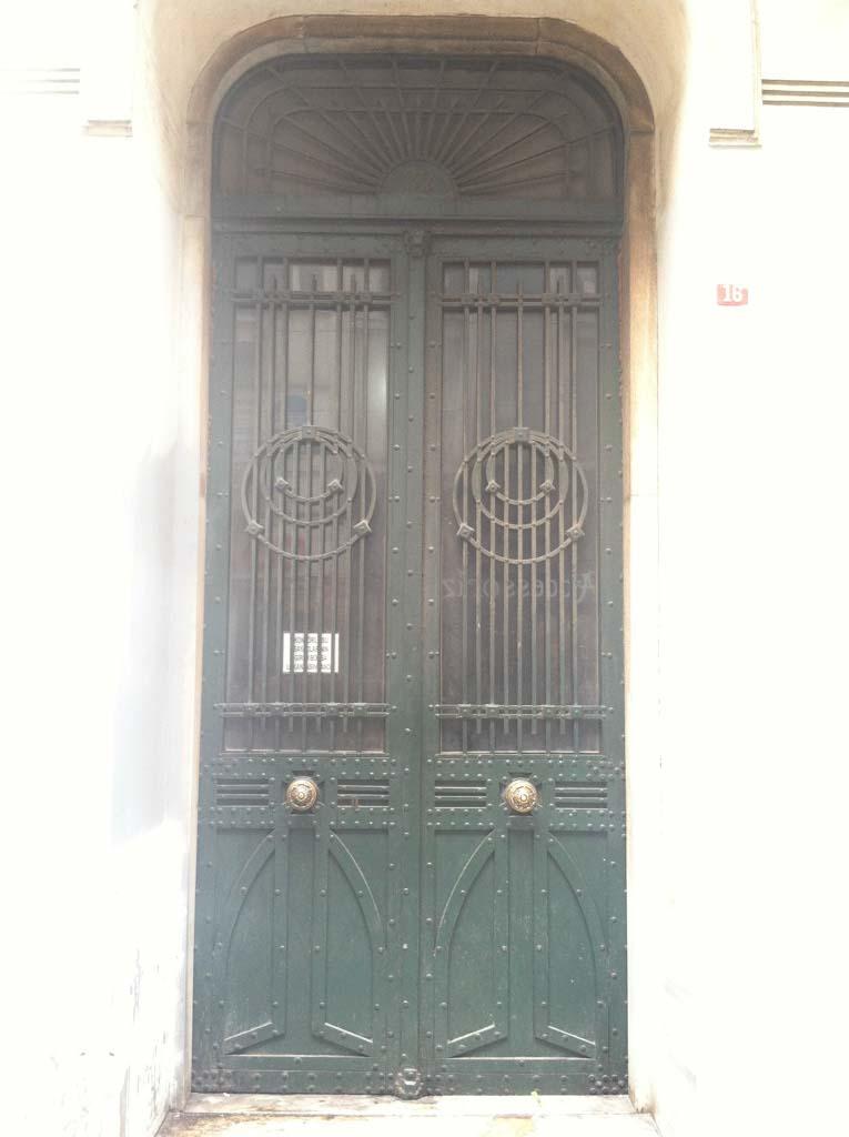 Door #1: okay
