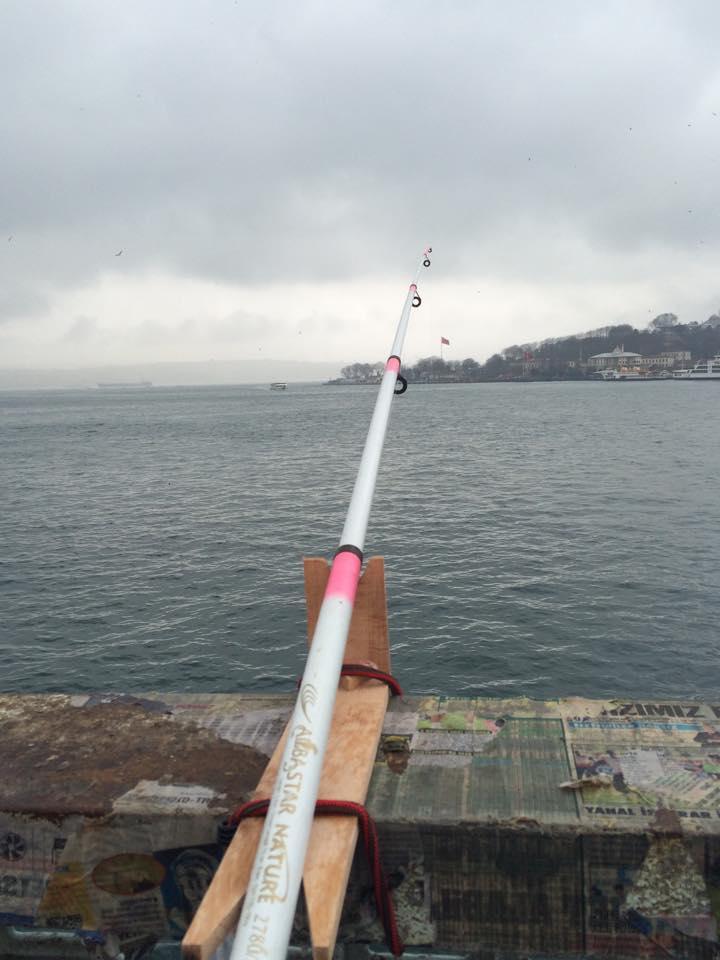 Fishing the Flag!