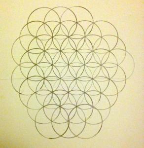 """Life Flower"" pattern"
