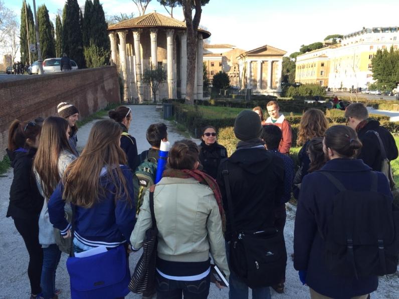 A lecture with Antonella de Michelis in Rome