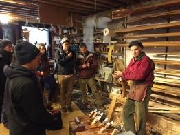 Studio visit to Saverio Pastor's workshop in Venice