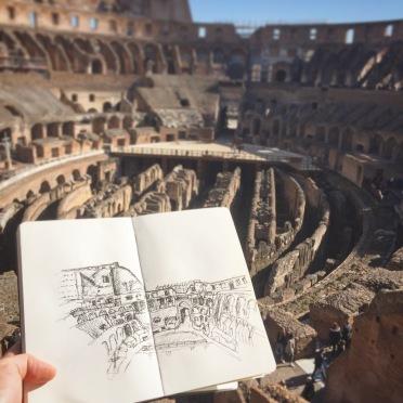 Colosseum Sketch