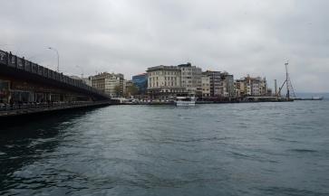 Galata Bridge towards Karaköy