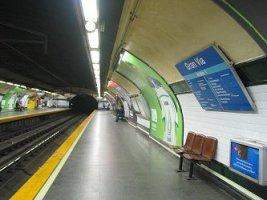 Alvarado station platform